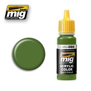 MIG Jimenez MIG 0060 Pale Green (17 ML)