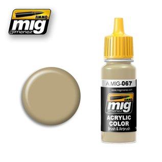 MIG Jimenez MIG 0067 IDF Sand Grey '73 (17 ML)
