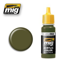 MIG Jimenez MIG 0068 IDF Green (17 ML)