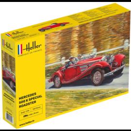 Heller Heller 80710 Mercedes 500 K Special Roadster (Schaal 1:24)