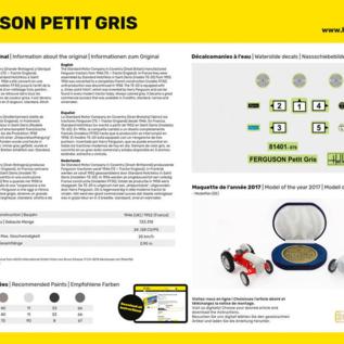 Heller Heller 57401 Ferguson TE-20 Starter Kit (Schaal 1:24)