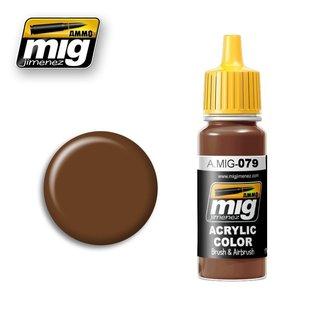 MIG Jimenez MIG 0079 Clay Brown (17 ML)