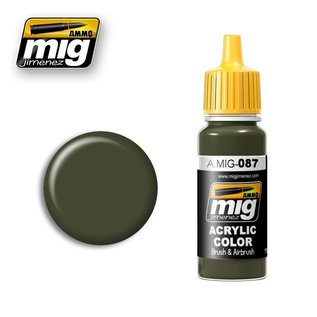 MIG Jimenez MIG 0087 RAL 6014 Gelboliv (17 ML)