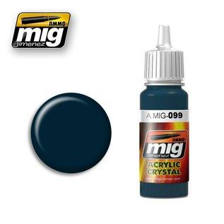 MIG Jimenez MIG 0099 Crystal Black Blue (17 ML)