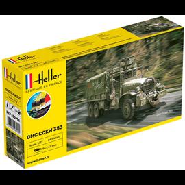 Heller Heller 56996 GMC CCKW 352 Starter Kit (Maßstab 1:72)