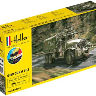 Heller Heller 56996 GMC CCKW 352 Starter Kit (Schaal 1:72)