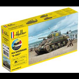 Heller Heller 56892 Sherman Starter Kit (Schaal 1:72)