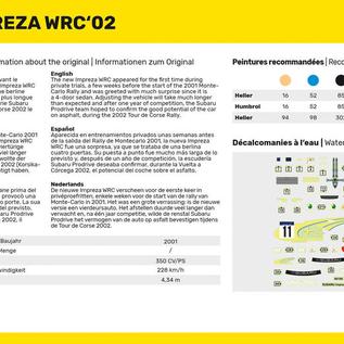 Heller Heller 80199 Impreza WRC'02 (Schaal 1:43)