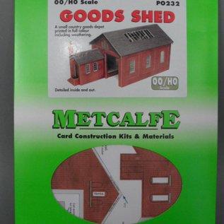 Metcalfe Metcalfe PO232 Guterschuppen (Baugröße H0/OO)