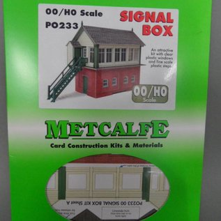 Metcalfe Metcalfe PO233 Signal box (H0/OO gauge)