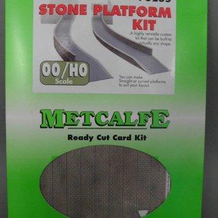 Metcalfe Metcalfe PO235 Perron in grijze steen (Schaal H0/00, Karton)