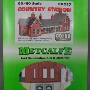 Metcalfe Metcalfe PO237 Ländlicher Bahnhof (Baugröße H0/OO)