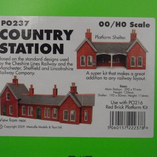 Metcalfe Metcalfe PO237 Country station (H0/OO gauge)