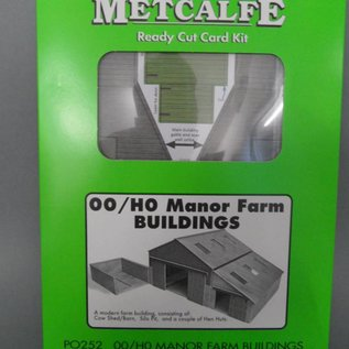 Metcalfe Metcalfe PO252 Boerderij bijgebouwen (Schaal H0/00, Karton)