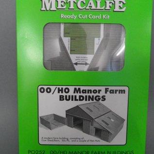 Metcalfe Metcalfe PO252 Manor farm buldings (H0/OO gauge)