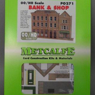 Metcalfe Metcalfe PO271 Bank und Laden (Halbrelief/Hintergrundmodell)