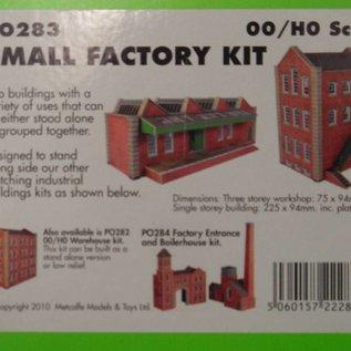 Metcalfe Metcalfe PO283 Kleine Fabrikhalle (Baugröße H0/OO)