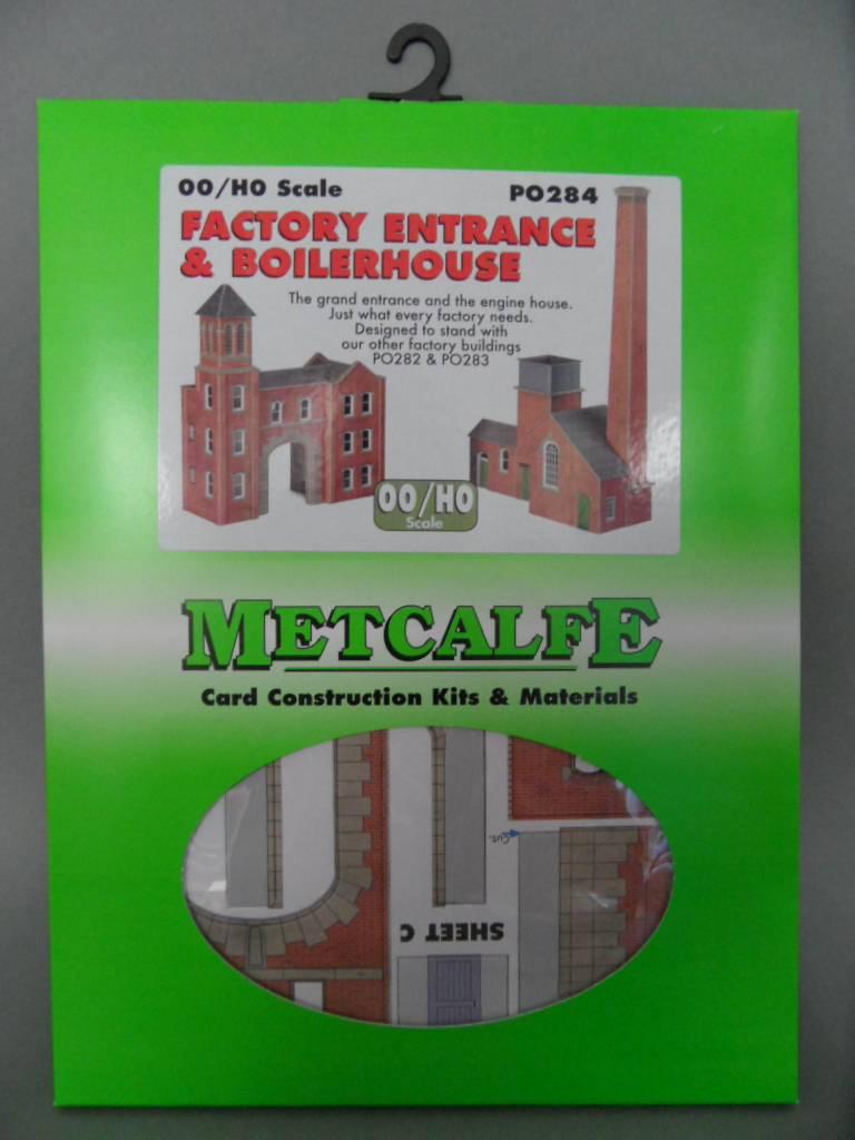 Metcalfe PO284 Factory Entrance /& Boilerhouse OO Gauge