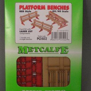 Metcalfe Metcalfe PO502 5 Perron banken (Schaal H0/00, Karton)