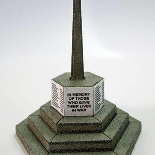Ancorton Models War Memorial, laser cut kit, H0/OO