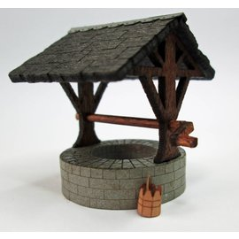 Ancorton Models OOVW1 - Village well, laser cut kit, H0/OO gauge