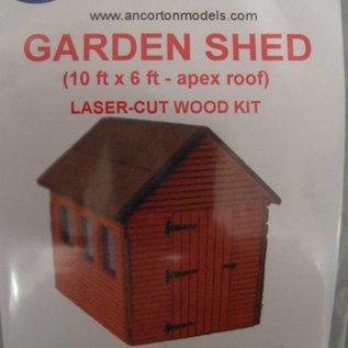 Ancorton Models Gartenscheune (Baugröße H0/OO)