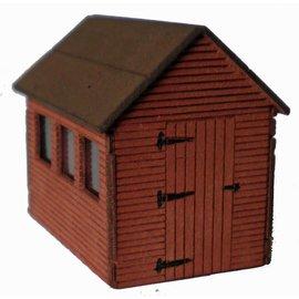 Ancorton Models Garden shed, laser cut kit, H0/OO gauge