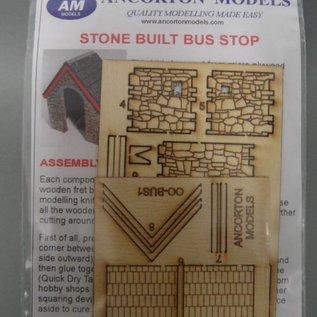 Ancorton Models Wachthuisje natuursteen (Schaal H0/00, lasercut)