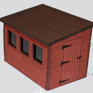Ancorton Models Ancorton OOSH1 Tuinhuisje (Schaal H0/00, lasercut)