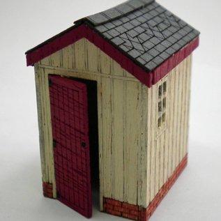 Ancorton Models Lineside building, laser cut kit, H0/OO gauge