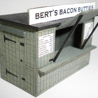 Ancorton Models Imbiß / Imbißstand (Baugröße H0/OO)