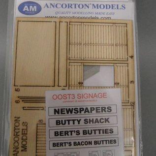 "Ancorton Models Snackbar/friture ""oude stijl"" (Schaal H0/00, lasercut)"