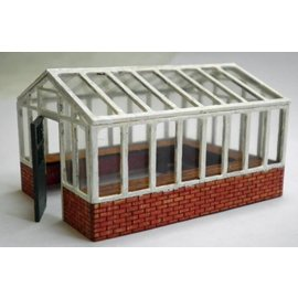 Ancorton Models Greenhouse, large, laser cut kit, H0/OO scale