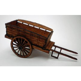 Ancorton Models Farm cart, horse drawn, laser cut kit, H0/OO gauge
