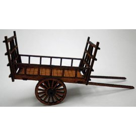 Ancorton Models Hay wain, horse drawn, H0/OO gauge