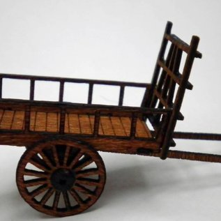 Ancorton Models Hay wain, horse drawn, laser cut kit, H0/OO gauge