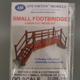 Ancorton Models Kleine voetgangersbrug (Schaal H0/00, lasercut)