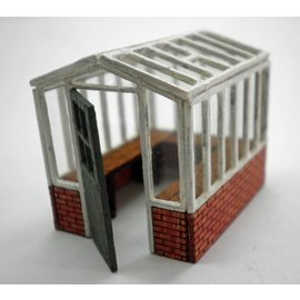 Ancorton Models Greenhouse, small, laser cut kit, H0/OO gauge