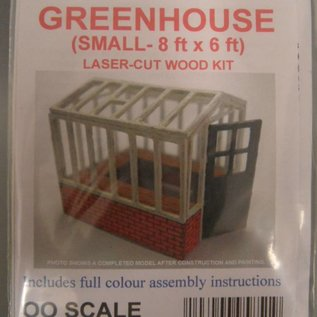 Ancorton Models Greenhouse, small, laser cut kit, H0/OO scale