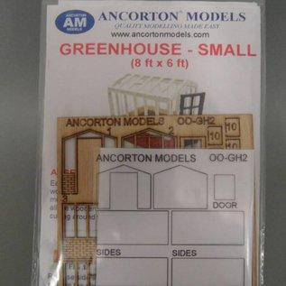 Ancorton Models Greenhouse, small, laser cut kit, H0/OO gauge