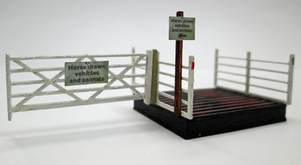 Cattle Grid- laser cut kit, H0/OO scale