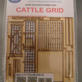 Ancorton Models Weiderost / Viehtor (Baugröße H0/OO Lasergeschnitten)