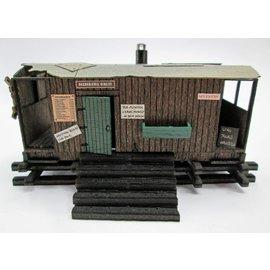 Ancorton Models Ancorton OOGV2 Scheune aus altem Güterwagen (Baugröße H0/OO, lasercut)
