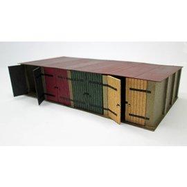 Ancorton Models Garageboxen (Schaal H0/00, lasercut)
