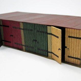 Ancorton Models Ancorton OOTG1 Garagenboxen  (Spur H0/OO, lasercut)