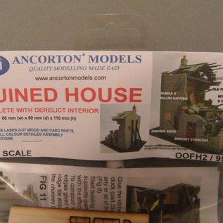 Ancorton Models Ancorton OOFH2 Hausruine (Spur H0/OO, lasercut)