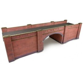 Metcalfe Metcalfe PO246 Railway bridge in red brick (H0/OO gauge)