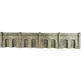 Metcalfe Metcalfe PO245 Retaining wall in stone (H0/OO gauge)
