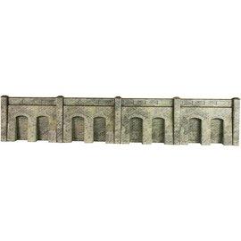 Metcalfe Metcalfe PO245 Retaining wall in stone (H0/OO gauge)
