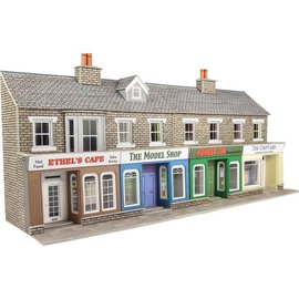 Metcalfe Metcalfe PO273 Low relief stone shop fronts (H0/OO gauge)